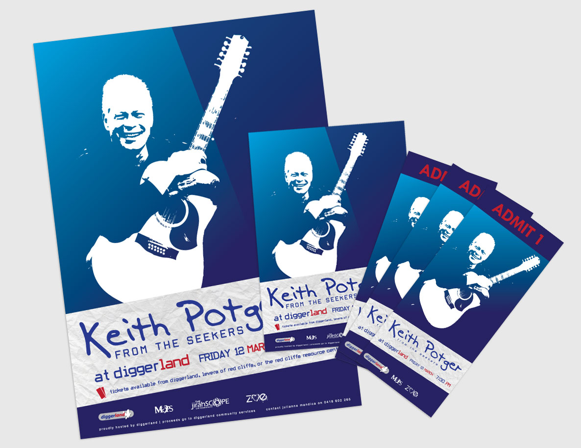 Keith Potger Promotional Materials
