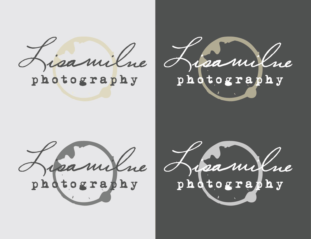Lisa Milne Photography Logo Set