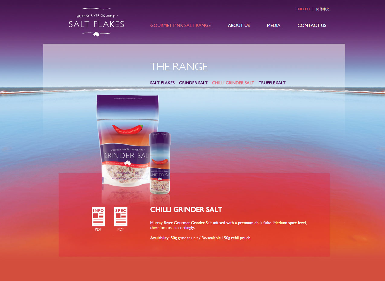 Murray River Gourmet Salt Website
